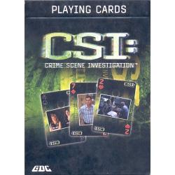 Baraja CSI Personajes playing cards