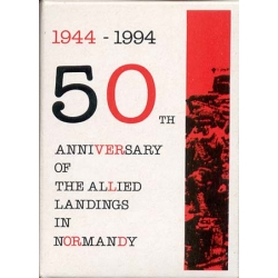 50th Anniversary of the allied landings in Normandy 1994-1994