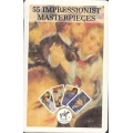 55 Impressionist Masterpieces - Impresionistas playing cards