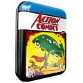 Action Comics Superman Vintage Tin Box playing cards Comic 1 Cartamundi