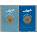 Air Force One Ronald Reagan playing cards