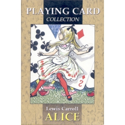 Alicia en el País de las Maravillas - Alice playing cards
