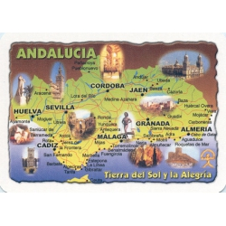 Andalucía - Andalusia playing cards