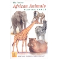 Animales de África - African Animals playing cards