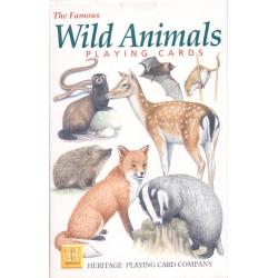 Animales Salvajes - Wild Animals playing cards