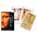 Art Pack 54 masterpieces playing cards Piatnik