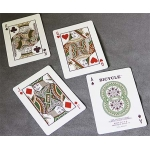 Autumn Automne Bicycle playing cards