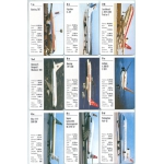 Aviones de pasajeros - Airliners playing cards