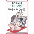 Te Amo - I Love you playing cards