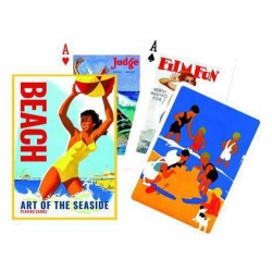 Beach Art of the Seaside Piatnik Playing Cards - Baraja Playa Vintage