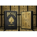 Bicycle Black and Gold Rider Back Playing Cards Limited Edition