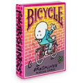 Bicycle Brosmind Four Gangs deck playing cards by Mingarro brothers