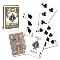 Bicycle Brown Rider Back playing cards