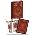 Bicycle Fyrebird deck playing cards