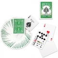 Bicycle Green Rider Back Playing Cards