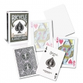 Bicycle Grey Rider Back Playing Cards