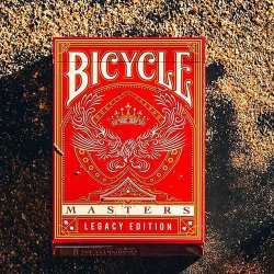 Bicycle Masters Legacy Edition Red The Ellusionist - Rider Back deck