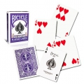 Bicycle Violet Rider Back Playing Cards