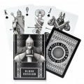Black Russian Piatnik Playing Cards - Baraja Rusia Negra