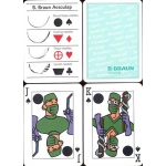B. Braun Aesculap - Surgical Sutures playing cards