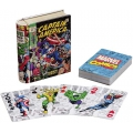 Captain America Marvel Comics Tin Box deck playing cards