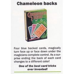 Card Trick: Chameleon backs - Truco Camaleón Bicycle playing cards