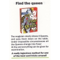 Card Trick: Find the queen - Truco Encuentra la Reina playing cards