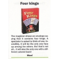 Card Trick: Four Kings - Truco 4 Reyes playing cards