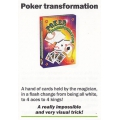 Card Trick: Poker Transformation - Truco Poker Transformación playing cards