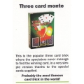Card Trick: Three card Monte - Truco Trilero playing cards