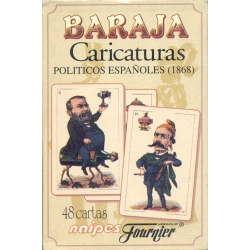 Caricaturas de Políticos Españoles - Spanish Political Cartoons playing cards