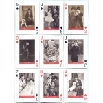 Charlie Chaplin playing cards