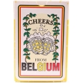Cheers from Belgium playing cards
