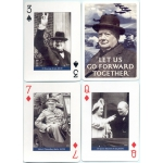 Winston S. Churchill playing cards