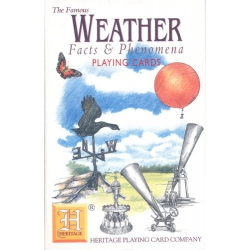Clima, Hechos y Fenómenos - Weather, Facts & Phenomena playing cards