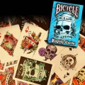 Club Tattoo Blue Bicycle playing cards