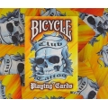 Club Tattoo Orange Bicycle playing cards