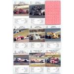 Coches de Carreras - Race Cars playing cards