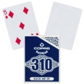 Copag 310 Back Me Up Slimline playing cards - Baraja Reverso Blanco