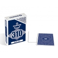 Copag 310 Face Off Blue Slimline playing cards - Baraja Caras Blancas Azul