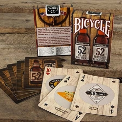 Craft Beer II Bicycle playing cards
