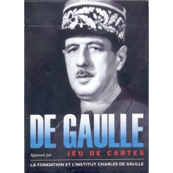 De Gaulle playing cards