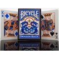 Dragon Blue Back Bicycle playing cards