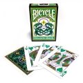 Bicycle Dragon Back Green playing cards