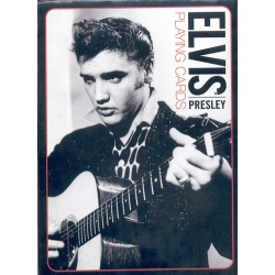 Baraja Elvis Presley Blanco y Negro - White and Black playing cards