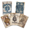 Expert Back Blue Bicycle playing cards
