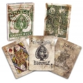 Expert Back Green Bicycle playing cards