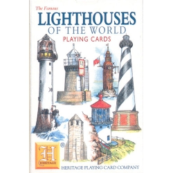 Faros del Mundo - Lighthouses of the World playing cards