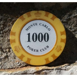 Ficha Casino Monte Carlo 1000 Poker Club