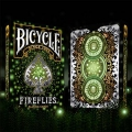 Bicycle Fireflies playing cards - Baraja Poker Luciérnagas
